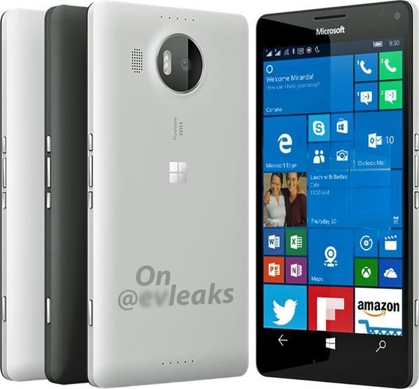 Microsoft Lumi  XL render evleaks