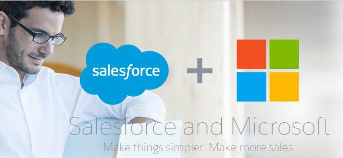 salesforce microsoft partnership official