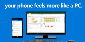 Microsoft Continuum Ad