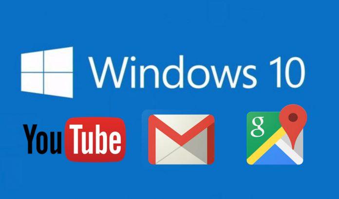 Windows  google apps