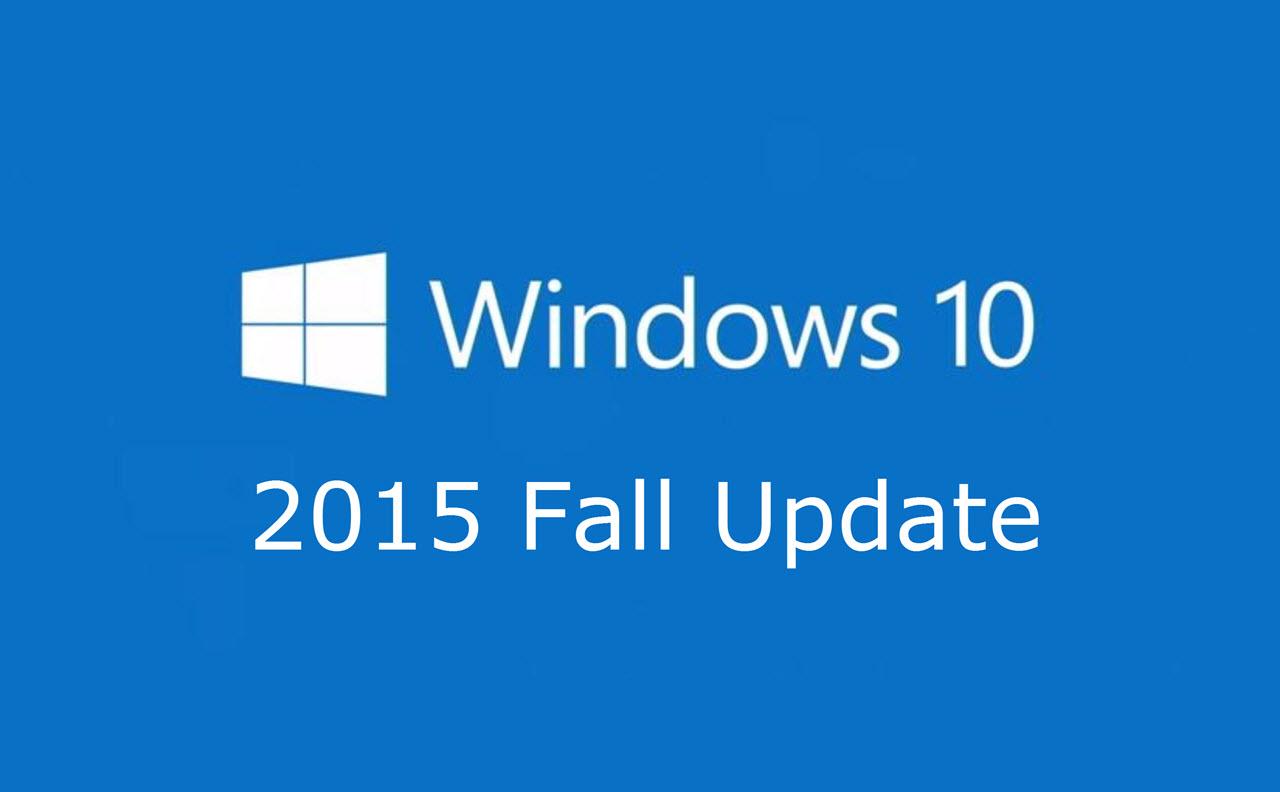 Windows 10 2015 Fall Update