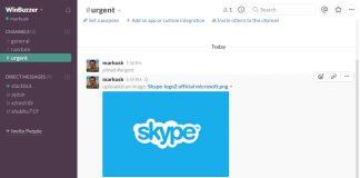 Skype Slack integration