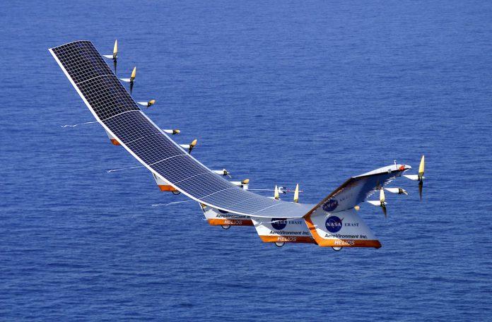 solar drone nasa commons