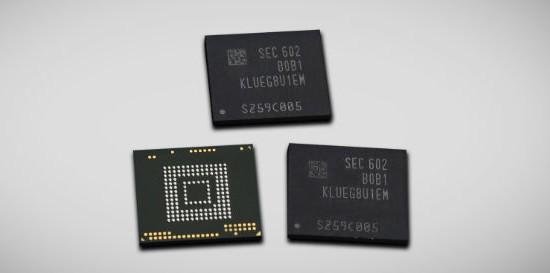 Samsung  Gigabyte Universal Flash Storage official Samsung e