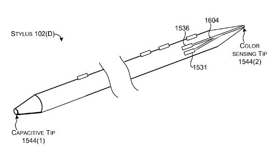 Microsoft Patent Stylus
