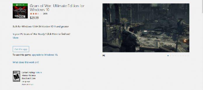 Gears of war Windows Official