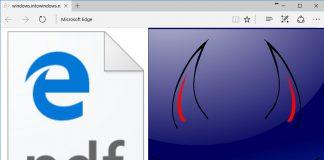 Microsoft Edge WinRT PDF exploit own