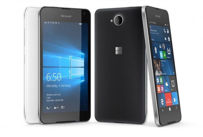 Microsoft Lumia  front