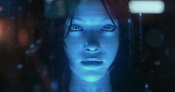 Cortana Halo Microsoft
