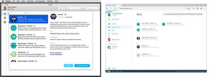 Skype Bot Official Platforms