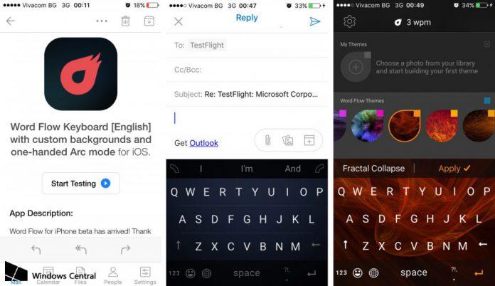 Word Flow iOS Windows Central e