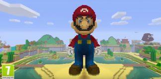 Mario Minecraft Ninetendo