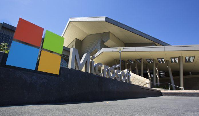 Microsoft Campus Logo Microsoft