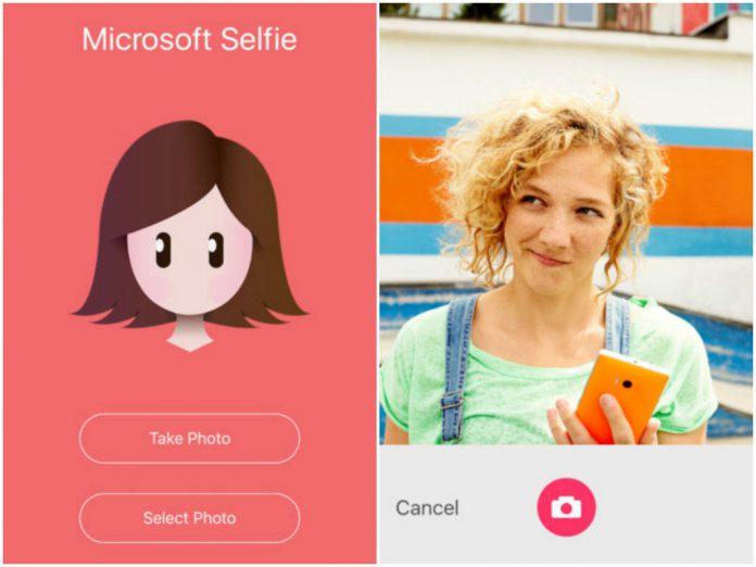 Microsoft Selfie iTunes