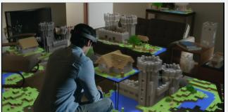 Minecraft VR Microsoft
