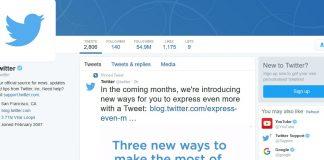 Twitter Changes Live Tweet