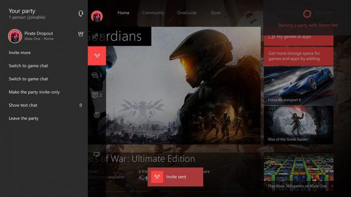 Cortana Invite Xbox One Microsoft