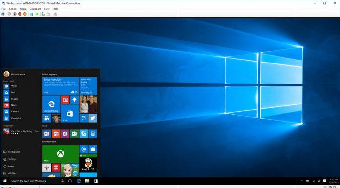 Hyper V Windows  desktop own