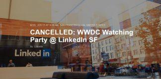 LinkedIn Cancel WWDC SHOT LinkedIn