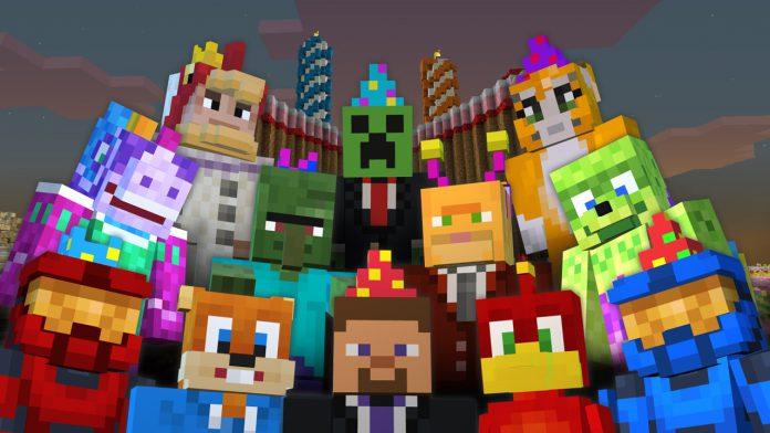 Minecraft Characters Mojang