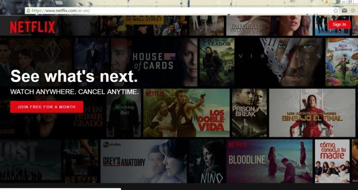 Netflix Screenshot Chrome