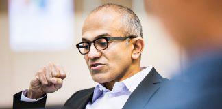 Satya Nadella Microsoft Official e