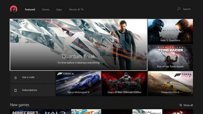 UWP Store Xbox One Microsoft