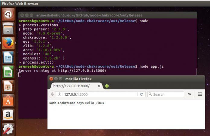 ChakraCore Linux Windows Blog Official