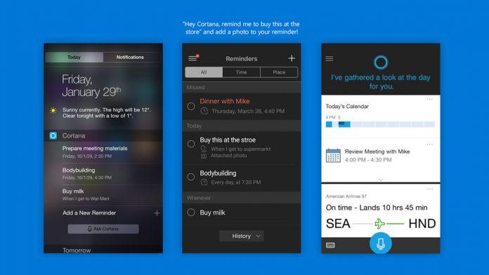 Cortana Collage AppStore
