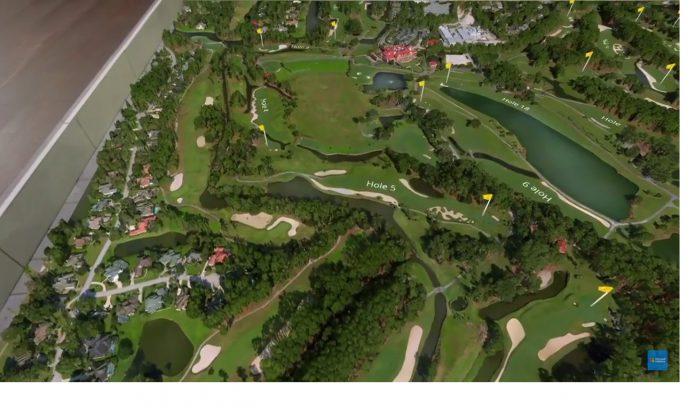HoloLens PGA Golf Demo Microsoft