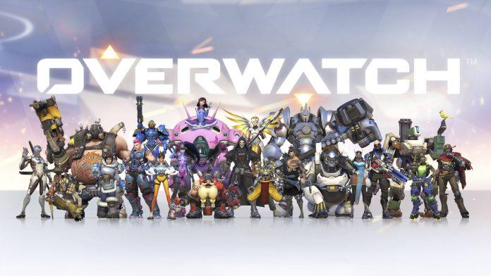 OverWatch Hero Blizzard e