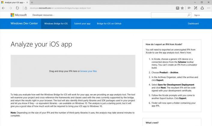iOS App Analysis Tool WindowsBlogs