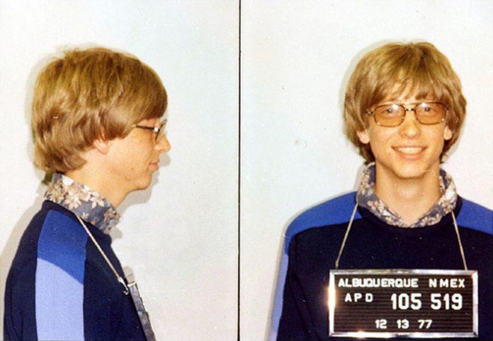 Bill Gates Mug Shot Wikimedia