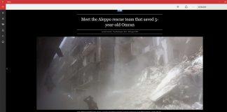 MSN News Dark Theme Screenshot Own