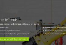 Azure Iot Hub Website Screenshot
