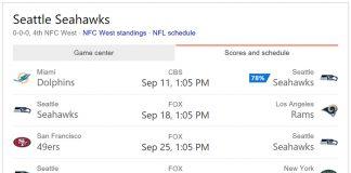 Bing Predictions NFL Microsoft