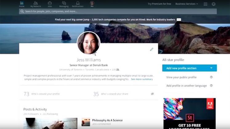 Linked New Web Design