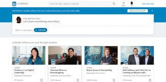 LinkedIn Learning Screenshot Own