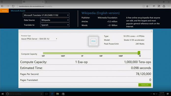 Microsoft Global AI Screenshot