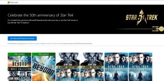 Microsoft Rewards Star Trek