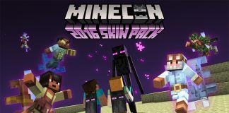 Minecon skin pack mojang