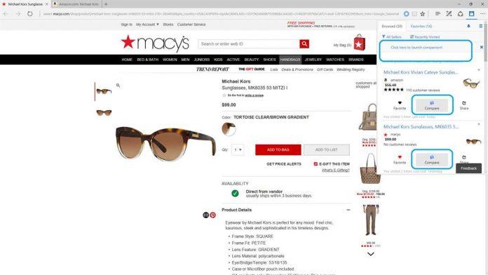 Pesonal Shopping Assistant Edge Screenshot Microsoft Store