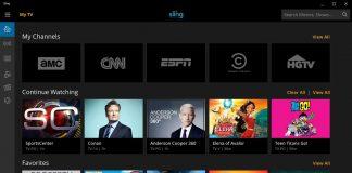 Sling TV Windows  App Windows Store Official