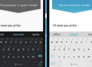 SwiftKey Neural Screenshot