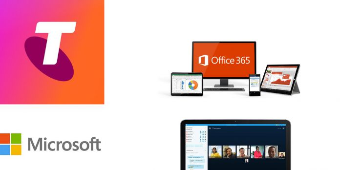 Telstra Microsoft Partnership Official Images Collage Own