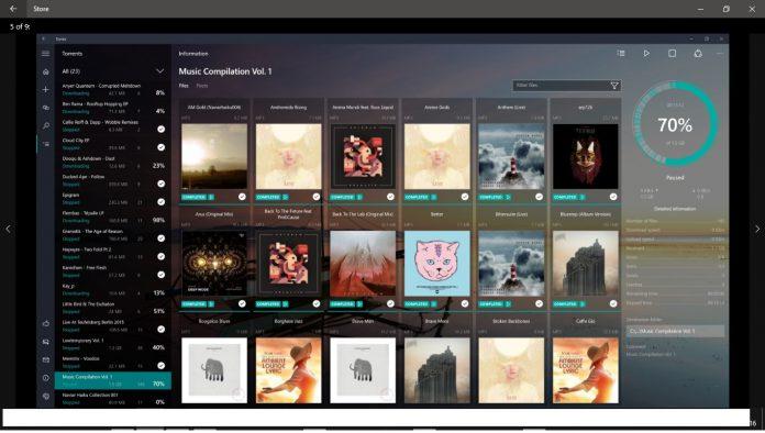 Torrex Screenshot Windows Store Official