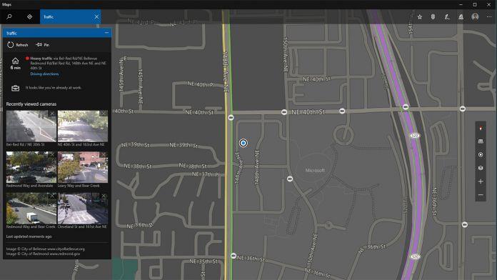Windows  Build  Maps Update