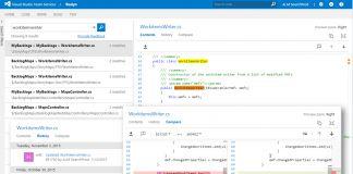 Code Search Visual Studio Team Services Microsoft