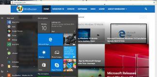 Current Windows  Start WinBuzzer Own