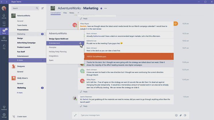 Skype Teams Collaboration  Petri